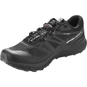 Salomon Sense Ride 2 Shoes Herre black phantom ebony